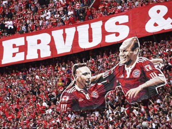 Laga Terakhir Ribery dan Robben Diwarnai Pesta Gol dan Trofi Bundesliga