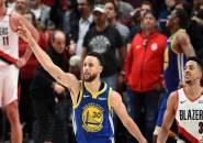 Kalahkan Blazers di Game 4, Warriors Melangkah ke Babak Final NBA