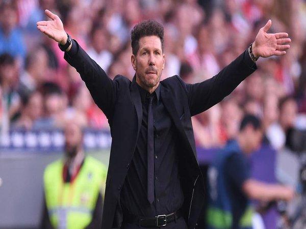 Ditinggal Eksodus Pemain Kunci, Diego Simeone Putuskan Bertahan di Atletico Madrid