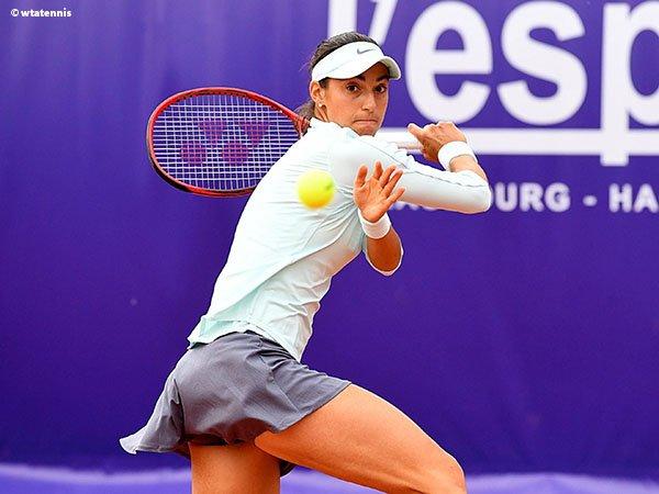 Lakoni Dua Laga Tak Halangi Caroline Garcia Tembus Perempatfinal Di Strasbourg