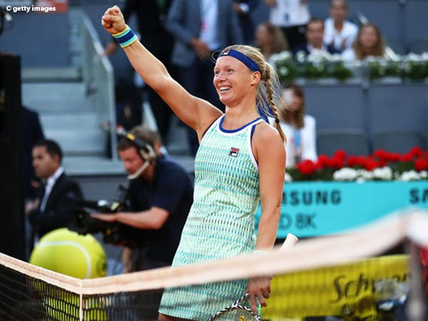 Asah Kemampuan Di Clay-Court, Kiki Bertens Miliki Peluang Tinggi Di French Open