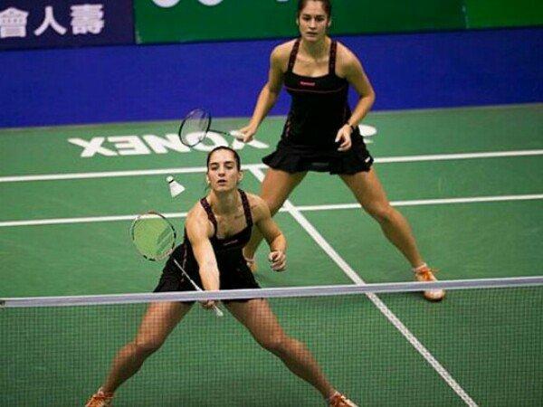 Gabriela Stoeva/Stefani Stoeva Mundur dari Federasi Badminton Bulgaria