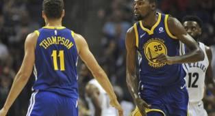 Warriors Akan Berusaha Keras Untuk Pertahankan Klay Thompson dan Kevin Durant di Bursa Pasar Bebas