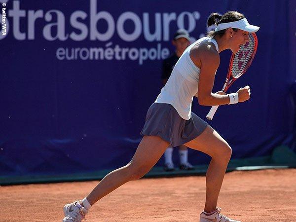 Caroline Garcia Berjuang Mati-Matian Demi Satu Tiket Menuju Semifinal Di Strasbourg