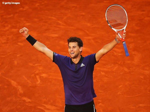 Dominic Thiem Berharap, Waktunya Untuk Bersinar Di Roland Garros Tiba