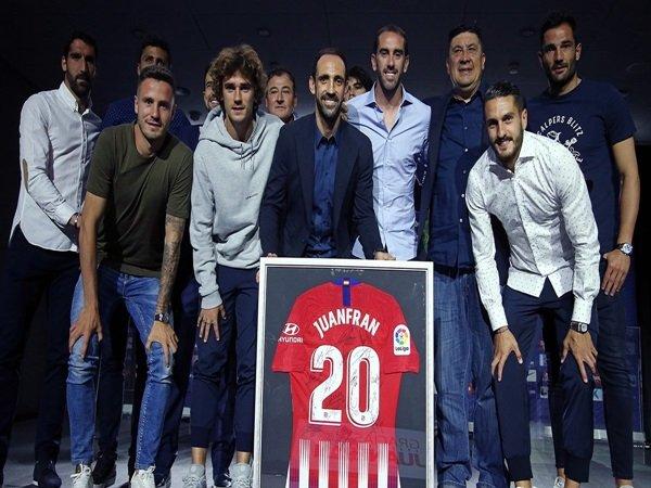 Resmi! Juanfran Ucapkan Selamat Tinggal Pada Atletico Madrid