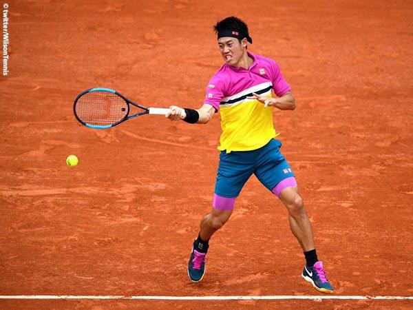 Hasil French Open: Lakoni Laga Pertama, Kai Nishikori Tak Hadapi Kendala