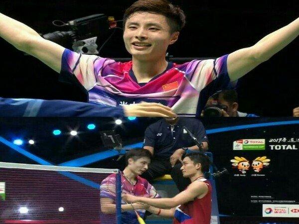 Lumat Jepang 3-0, China Juara Piala Sudirman 2019