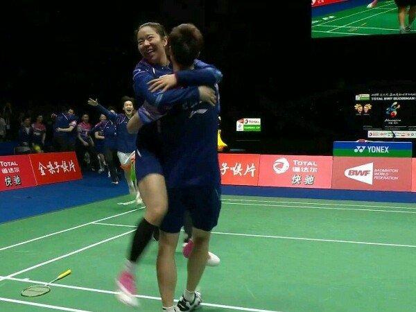 Kalahkan Jepang di Final, China Juara 11 Kali Piala Sudirman