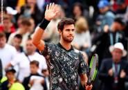 Hasil French Open: Berkat Kemenangan Laga pertama, Karen Khachanov Dan Lucas Pouille Dapatkan Suntikan Kepercayaan Diri
