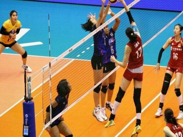 Thailand Kalah dari China di FIVB Volleyball Nations League 2019