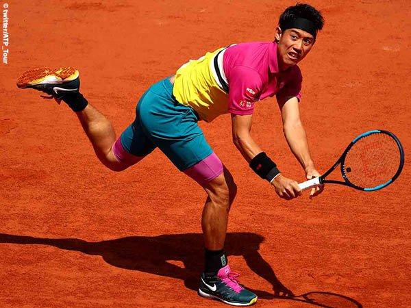 Hasil French Open: Kei Nishikori Bungkam Jo Wilfried Tsonga