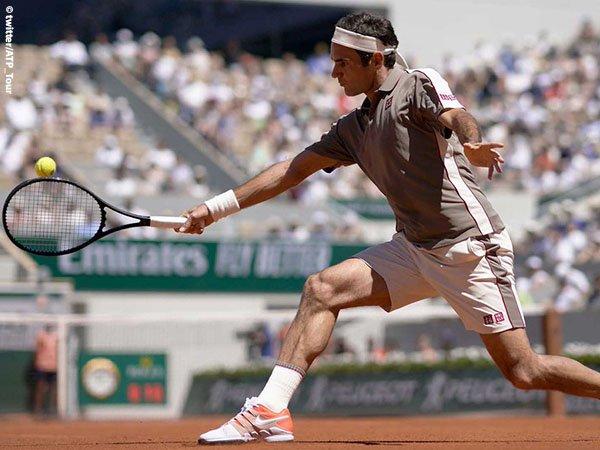 Hasil French Open: Tampil Perkasa, Roger Federer Mantap Ke Perempatfinal