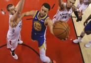 Menang di Game 2, Warriors Samakan Kedudukan Dengan Raptors