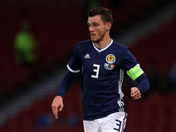 Juara Liga Champions, Skotlandia Bangga dengan Andy Robertson