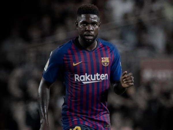 Diincar Arsenal, Umtiti Ingin Bertahan di Barcelona