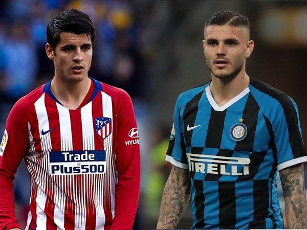 Inter Berniat Tukar Icardi dengan Morata?