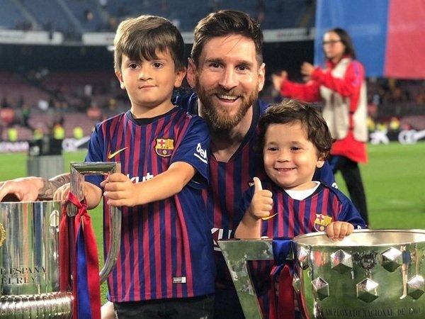 Messi Bocorkan Kelakuan Anaknya yang Dukung Real Madrid