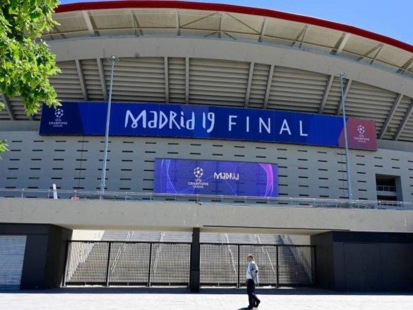 Atletico Madrid Kembali Ajukan Metropolitano Sebagai Tuan Rumah Final Liga Champions