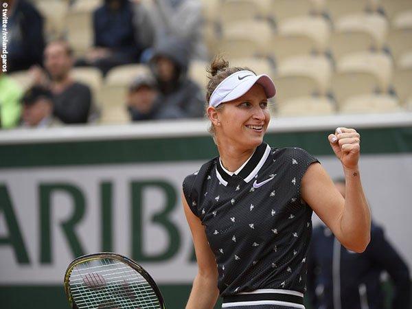 Hasil French Open: Jegal Johanna Konta, Marketa Vondrousova Bukukan Satu Tiket Menuju Final