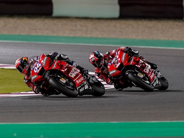 Dovizioso Tak Segan-Segan Bantu Petrucci Bersinar di Ducati