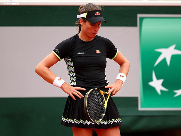 Meski Kalah Di Semifinal French Open, Johanna Konta Tak Miliki Penyesalan