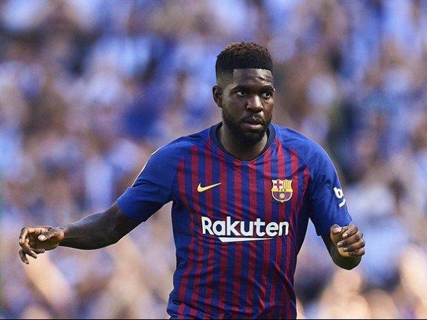 Diminati Arsenal, Umtiti Enggan Tinggalkan Barcelona