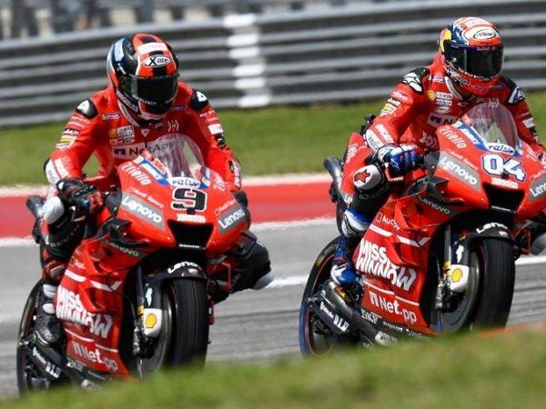 Dovizioso Berperan Besar Bagi Bergabungnya Petrucci ke Tim Pabrikan Ducati
