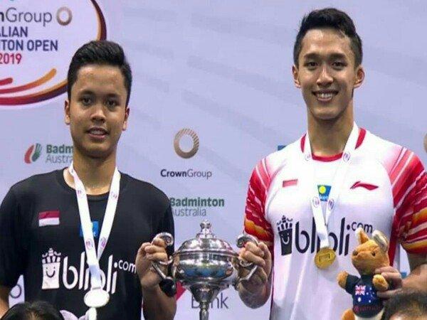 Hasil Final Australia Open 2019: China Dua Gelar, Indonesia Satu