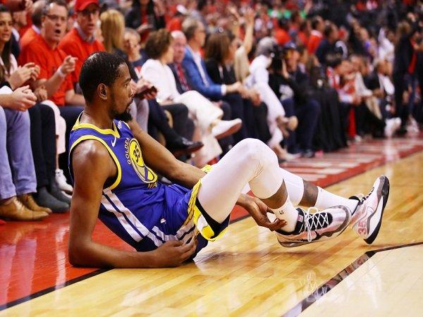 Malang, Kevin Durant Alami Cedera Achilles Usai Memaksa Bermain di Game Lima