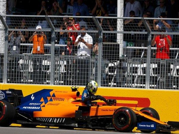 McLaren Selidiki Masalah Kerusakan Misterius Mobil Norris