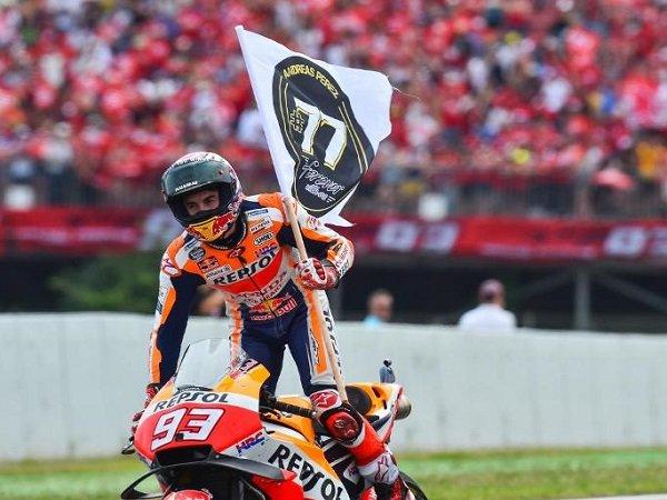 Tampil di Hadapan Para Penggemarnya, Marquez Optimistis Hadapi MotoGP Catalunya
