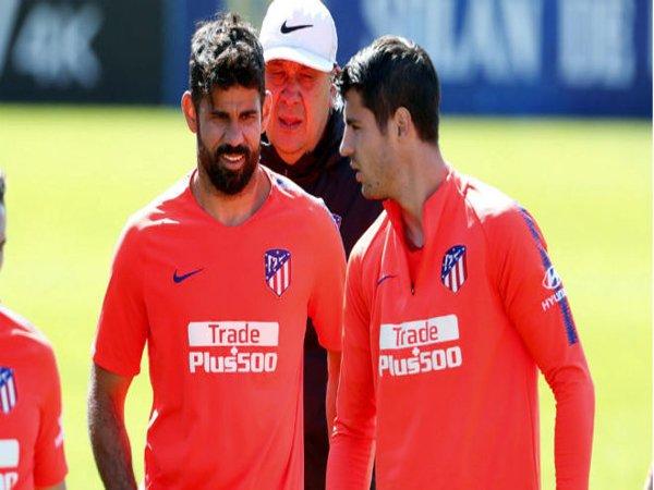 Atletico Madrid Ingin Datangkan Striker Pesaing Diego Costa dan Alvaro Morata
