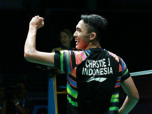 Juarai Australia Open, Jonatan Christie Naik ke Posisi 7 Dunia