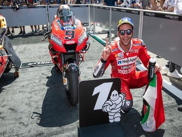 Meski Sukses Juarai GP Italia, Petrucci Hanya Incar Podium di Catalunya