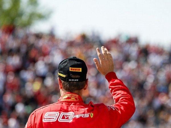 Ferrari Batal Ajukan Banding Atas Penalti Sebastian Vettel