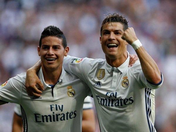 Ronaldo Diklaim Inginkan James di Juventus