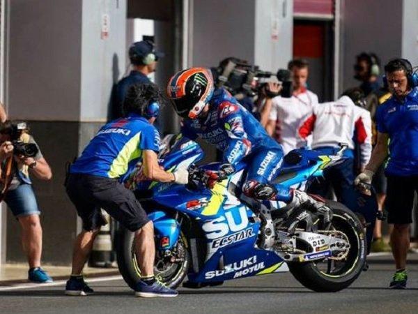 Suzuki Turunkan Tiga Pebalap pada MotoGP Catalunya