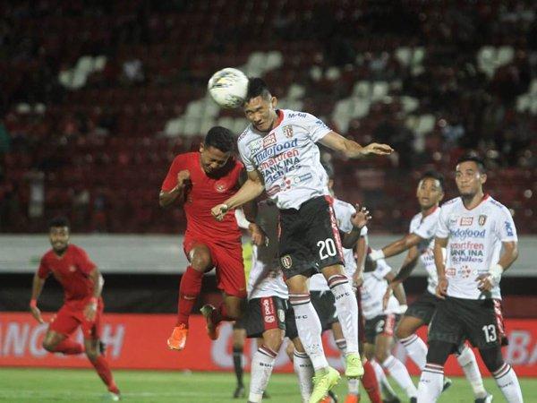 Timnas U23 Bermain Imbang dengan Bali United Pada Laga Uji Coba