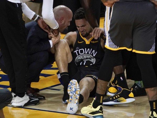 Warriors Kembali Kehilangan Klay Thompson Usai Cedera Parah di Game 6