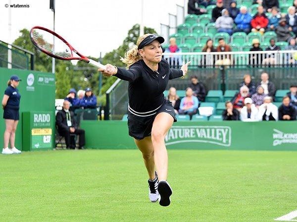 Donna Vekic Kandaskan Mimpi Kristina Mladenovic Di Nottingham