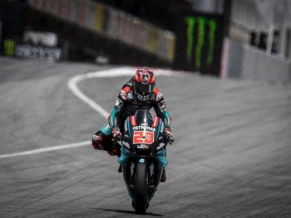 Quartararo Tak Bisa Berkata-kata Usai Rebut Pole Position di GP Catalunya