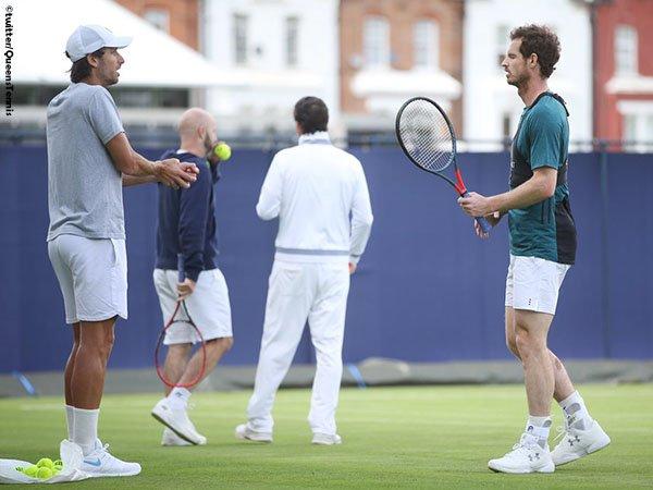 Andy Murray Dan Feliciano Lopez Hadapi Unggulan Pertama Di Laga Pembuka Queen`s Club