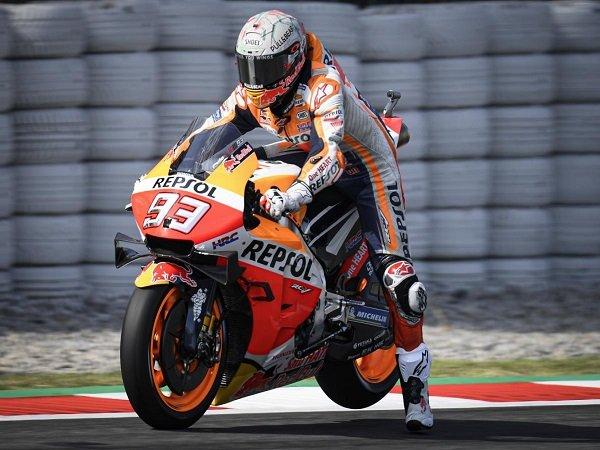 Marquez Senang Bukan Main Usai Start Di Depan Pebalap Ducati