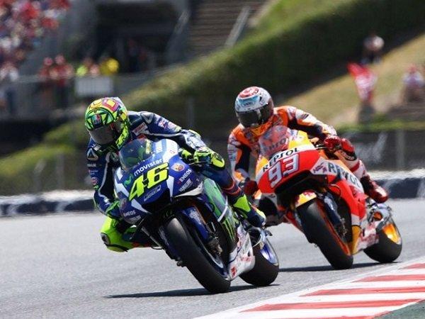 Rossi Berikan Apresiasi Besar Atas Kemampuan Balap Spesial Dari Marquez