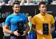 Kandaskan Felix Auger Aliassime, Matteo Berrettini Naik Podium Juara Di Stuttgart