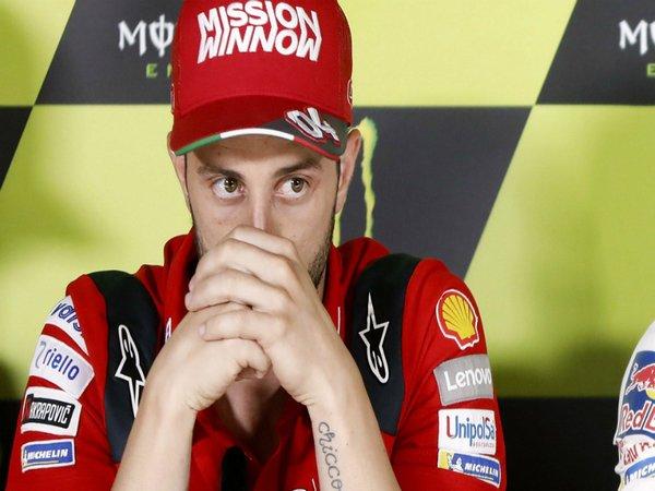 Semakin Tertinggal Jauh dari Marquez, Dovizioso Enggan Menyerah