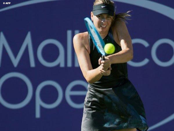 Kembali Ke Lapangan, Maria Sharapova Klaim Kemenangan Pertama Di Mallorca