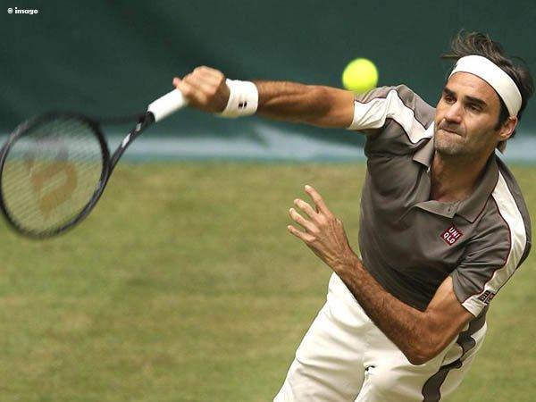 Roger Federer Satu Langkah Lebih Dekat Dengan Gelar Kesepuluh Di Halle