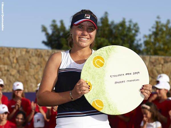 Kerja Keras Sofia Kenin Terbayar Dengan Gelar Mallorca Open